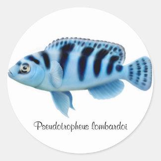 Pseudotropheus lombardoi African Cichlid Sticker