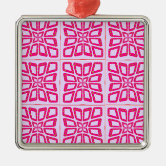 PSG Dots Pinched Tiles. Metal Ornament