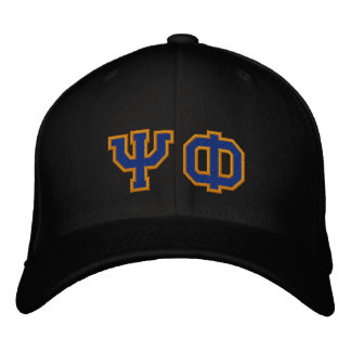 Psi Phi Fan Embroidered Baseball Cap