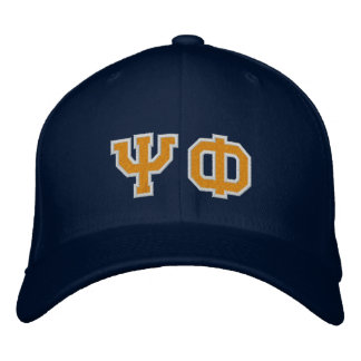 Psi Phi Fan Embroidered Baseball Hat