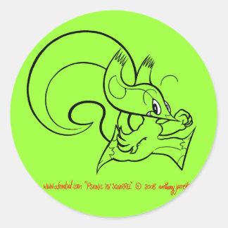Psi Squirrel Sticker 2