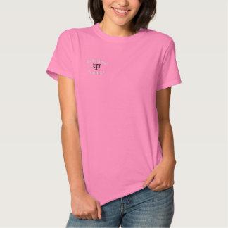 Psi_sym, Behavioral , Sciences Embroidered Shirt