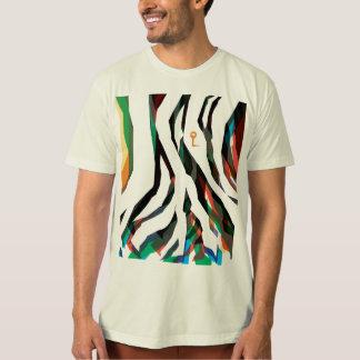 Psi texture t shirt