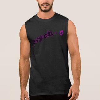 Psico púrpura camiseta sin mangas