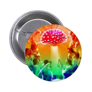 Psicodélico-Cielo Pin Redondo 5 Cm