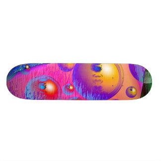 Psicodélico Tabla De Skate