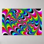 Psicodélico - poster del fractal