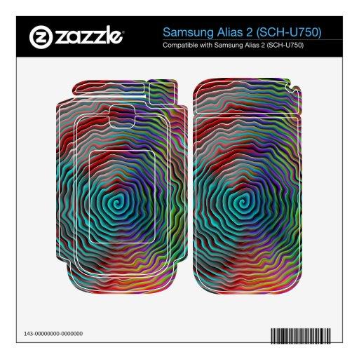 Psicodélico Samsung Alias 2 Calcomanía
