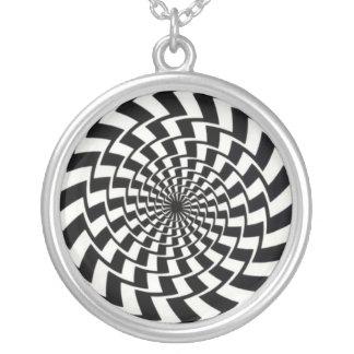 Psicodélico Silver Plated Necklace