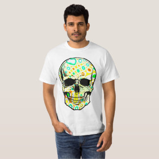 Psicodélico skull T-Shirt