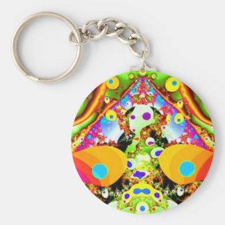 Psicodélicos Keychain