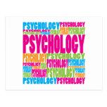 Psicología colorida postal