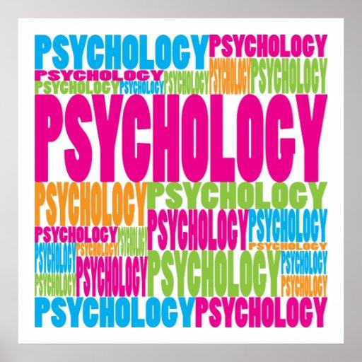 Psicología colorida poster