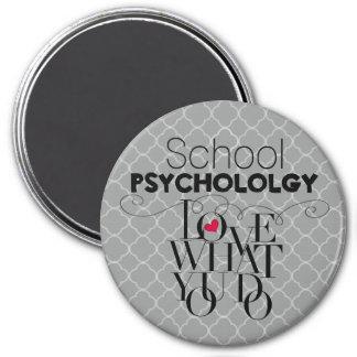 Psicología de la escuela--Una carrera para amar el Imán Redondo 7 Cm