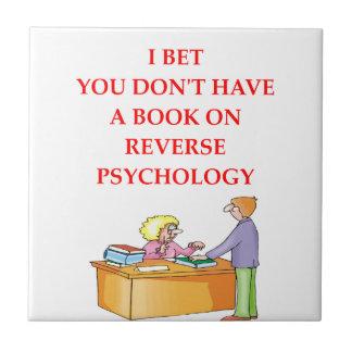 psicología reversa azulejo cuadrado pequeño