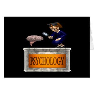 Psicología Tarjeta De Felicitación