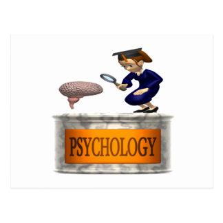 Psicología Tarjeta Postal