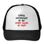 Psicólogo clínico del asesino del zombi gorro