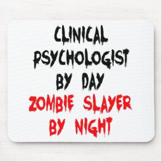 Psicólogo clínico del asesino del zombi alfombrilla de ratones