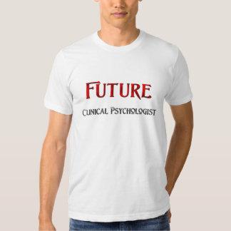 Psicólogo clínico futuro playeras