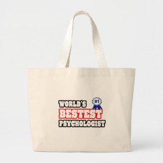 Psicólogo de Bestest del mundo Bolsas