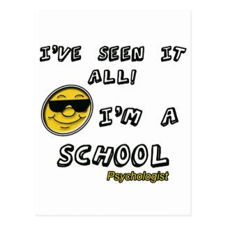 Psicólogo de la escuela postales