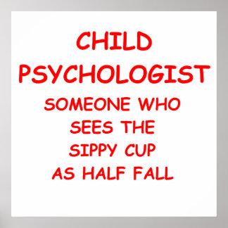 psicólogo del niño poster