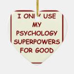 psicólogo del paychology adornos