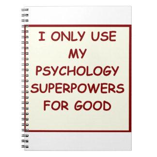 psicólogo del paychology cuadernos