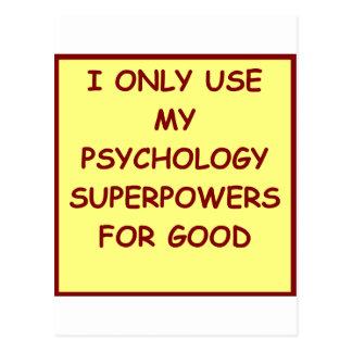 psicólogo del paychology postales