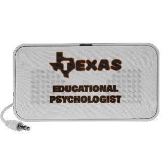 Psicólogo educativo de Tejas Notebook Altavoz