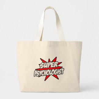 Psicólogo estupendo bolsas de mano