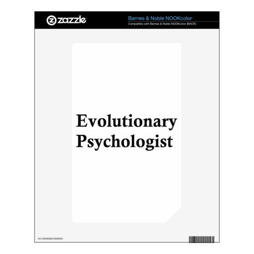 Psicólogo evolutivo NOOK color skin