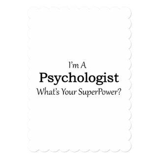 """Psicólogo Invitación 5"""" X 7"""""""