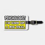 Psicólogo. Soy un poco una gran cosa Etiquetas Para Maletas