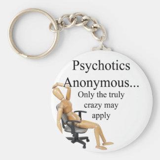 Psicópatas Llaveros Personalizados