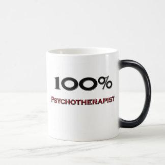 Psicoterapeuta del 100 por ciento taza de café
