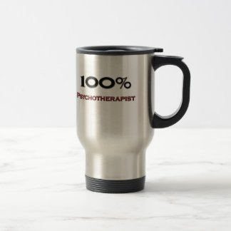Psicoterapeuta del 100 por ciento tazas de café