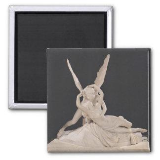 Psique restablecida por el beso del Cupid 1787-93 Imán Cuadrado