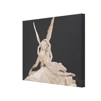 Psique restablecida por el beso del Cupid 1787-93 Lona Estirada Galerias