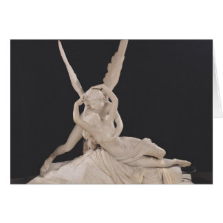 Psique restablecida por el beso del Cupid 1787-93 Tarjeta De Felicitación