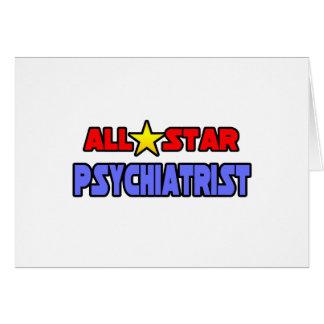 Psiquiatra de All Star Felicitación
