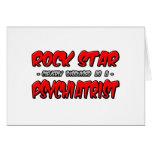 Psiquiatra de la estrella del rock… felicitaciones