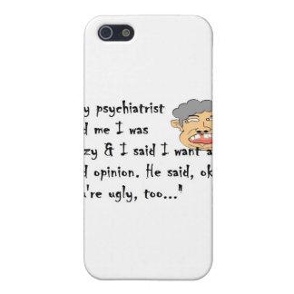 Psiquiatra iPhone 5 Fundas