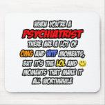 Psiquiatra. OMG WTF LOL Alfombrilla De Ratones