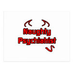 Psiquiatra travieso tarjetas postales