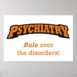 ¡Psiquiatría - regla sobre los desordenes! Poster