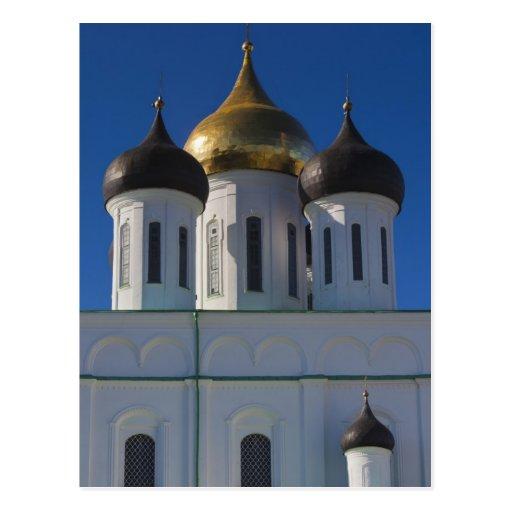 Pskov el Kremlin y catedral 2 de la trinidad Postales