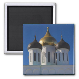 Pskov Kremlin and Trinity Cathedral 2 Refrigerator Magnets