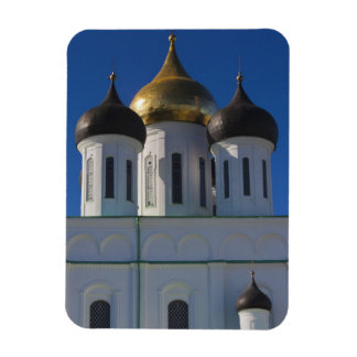 Pskov Kremlin and Trinity Cathedral 2 Rectangular Magnets